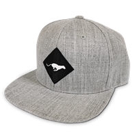Luypaers Snapback Cap Grey